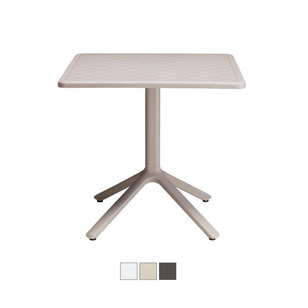 ECO 70×70 tavolo fisso