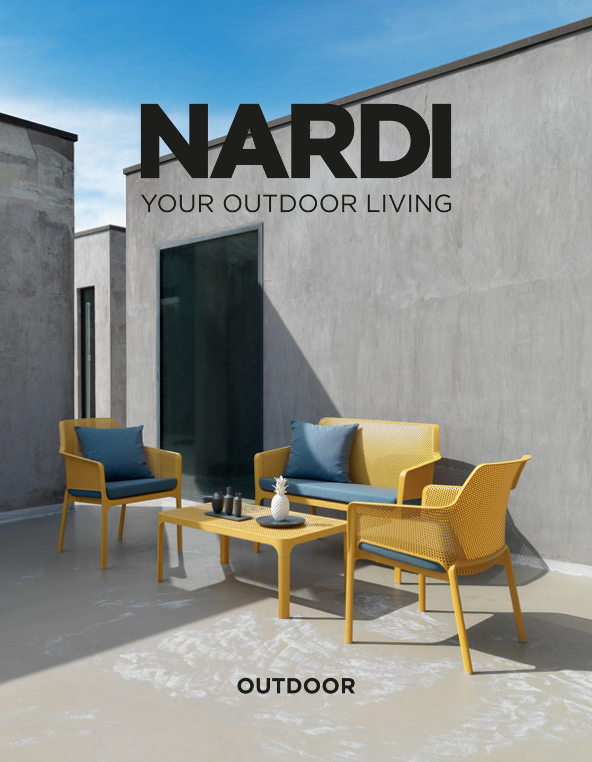 Catalogo nardi outdoor 2018 gipielle due for Nardi arredamenti
