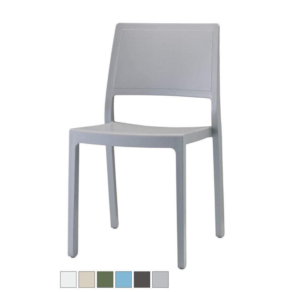 KATE sedia fibra di vetro Made in Italy