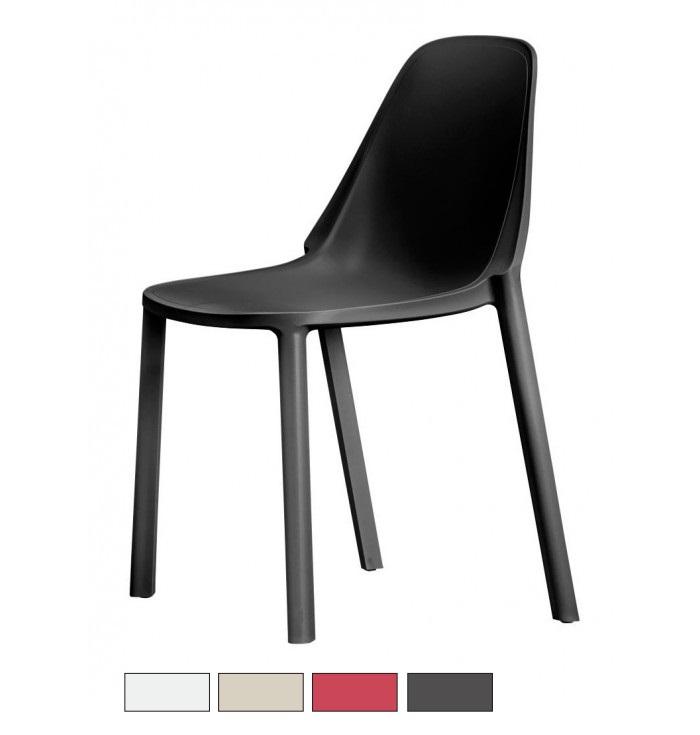 PIU' sedia fibra di vetro Made in Italy