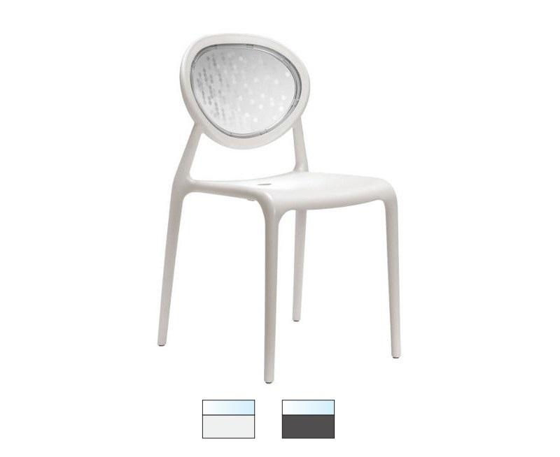 SUPER GIO sedia in fibra di vetro Made in Italy